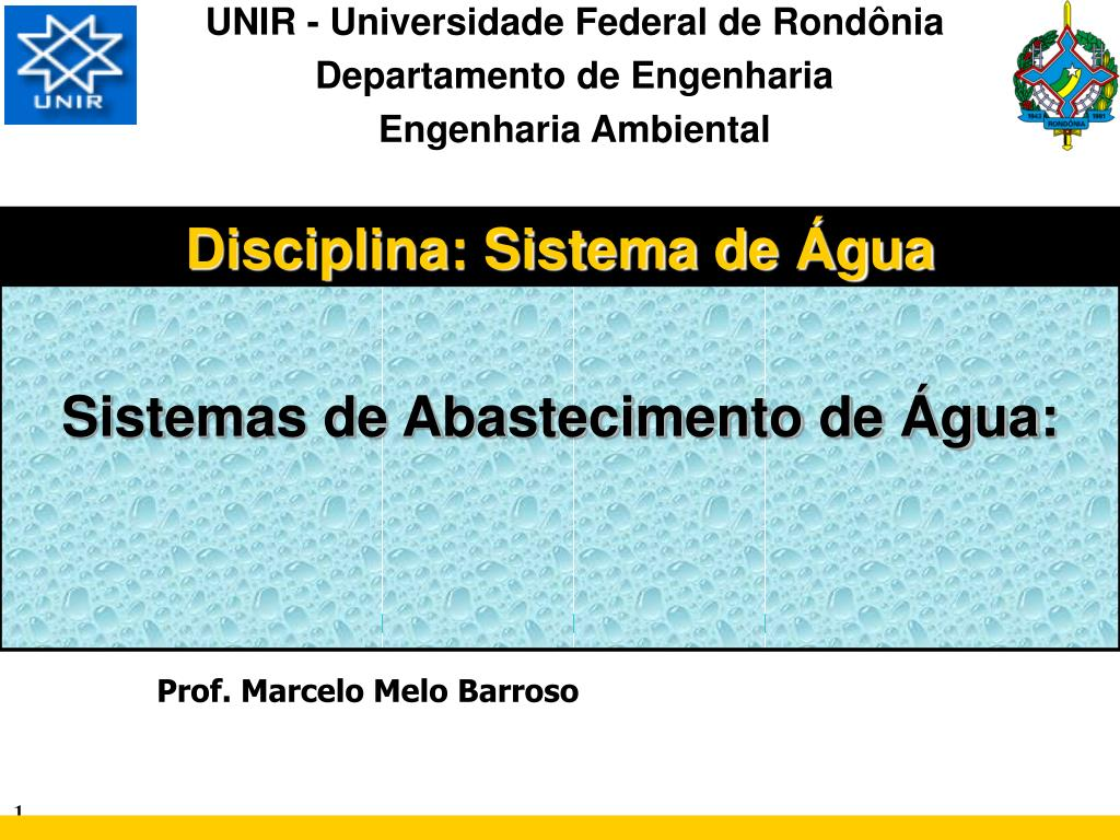 PPT – UNIR – Universidade Government de Rond
