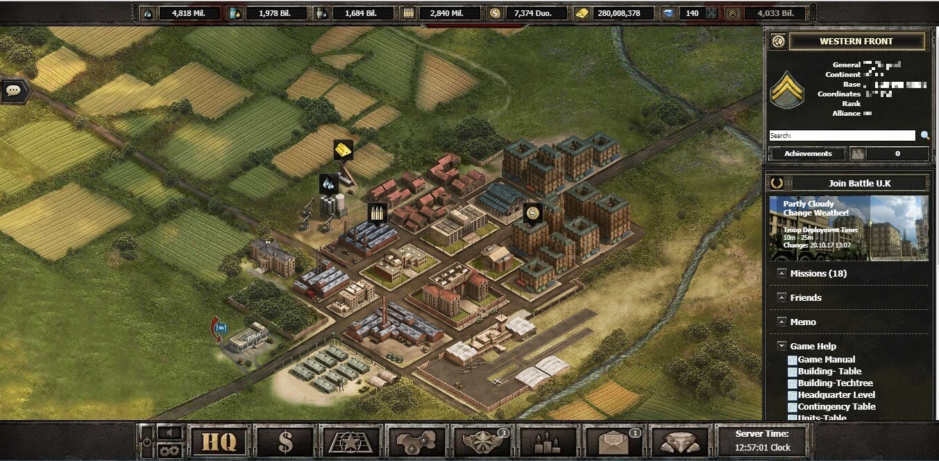 Wargame 1942 – Online strategy game in the second World War